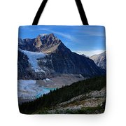 Mountains And Glaciers Tote Bag