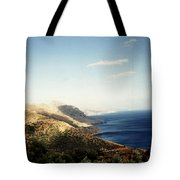 Mountains And Sea Tote Bag
