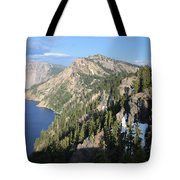 Mountains Around Crater Lake Tote Bag