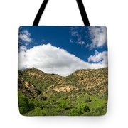 Mountains At Towsley Canyon In Southern California Tote Bag