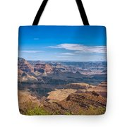 Mountains Below The Surface Tote Bag