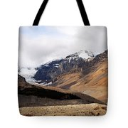 Mountains Clouds And Glaciers 2 Tote Bag