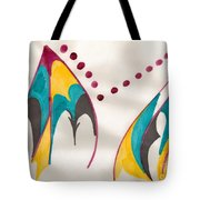 Mountains Echoing Tote Bag