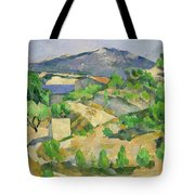 Mountains In Provence Tote Bag