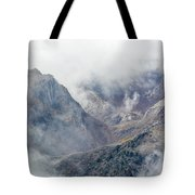 Mountains In The Mist Tote Bag