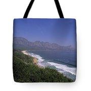 Mountains Meet Ocean On The Garden Tote Bag