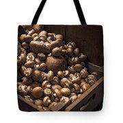 Mountains Of Mushrooms Tote Bag