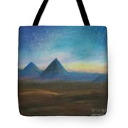 Mountains Of The Desert I Tote Bag