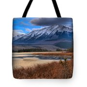 Mountains Over Talbot Tote Bag