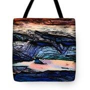 Mountains Valleys And Lake Tote Bag