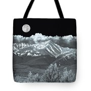 Mountains, When High Enough And Tough Enough, Measure Men.  Tote Bag