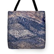 Mountainside Abstract - Red Rock Canyon Tote Bag