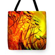 Mountainside Firestorm Tote Bag