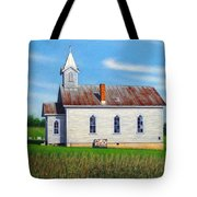 Mountain View Church Tote Bag