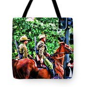 Mounted Infantry Tote Bag