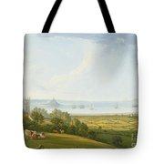 Mounts Bay From Ludgvan Tote Bag