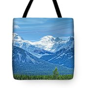 Mounts Inglismaldie And Girouard Tote Bag