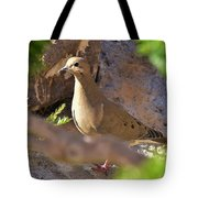 Mourning Dove On The Hillside Tote Bag