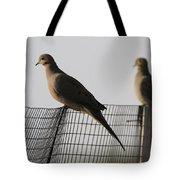 Mourning Doves Calverton New York Tote Bag