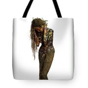 Mourning Moss A Sculpture By Adam Long Tote Bag