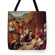 Mourning Over The Dead Body Of Christ Tote Bag