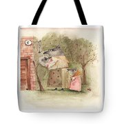 Mouse Family Tote Bag