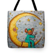 Mouse On The Moon Tote Bag