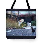 Mouse Patrol Tote Bag