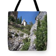 Moustier St. Marie Church Tote Bag