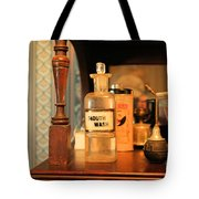 Mouth Wash In The Old Days Tote Bag