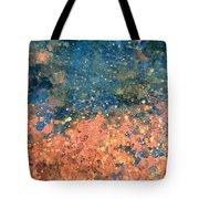 Movement Of Color Vii Tote Bag