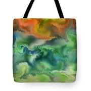 Movement Of The Natural World Tote Bag