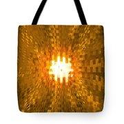 Moveonart Abstract Retro Light Action 2 Tote Bag