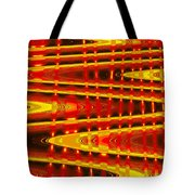 Moveonart Abstract Waves And Light Five Tote Bag