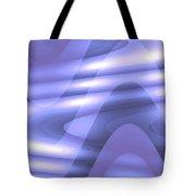 Moveonart Blu Wave Focus Tote Bag