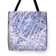 Moveonart Blue Cool Purifying Soul Tote Bag