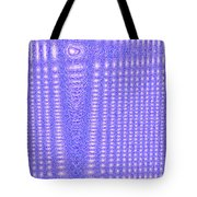Moveonart Blue Cross Cords Tote Bag