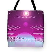 Moveonart Calming Cosmic Centering One Tote Bag