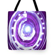 Moveonart Christmas 2009 Collection Opportunity Light Wreath Tote Bag