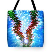 Moveonart Christmas 2009 Collection Victory Tree Tote Bag