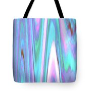 Moveonart Color Mood Waves Two Tote Bag