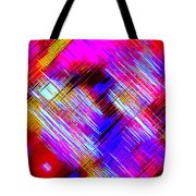 Moveonart Colorful Fast Paced Evening Tote Bag
