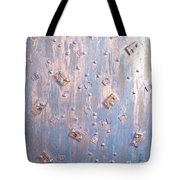 Moveonart Cool Blue Music Memory  Tote Bag