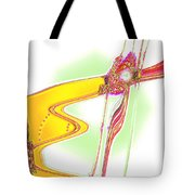 Moveonart Creative Peaceful Creature One Tote Bag