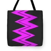 Moveonart Electricpurple Tote Bag