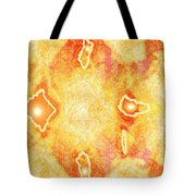 Moveonart Extra Jagged Colored Enlightening Tote Bag