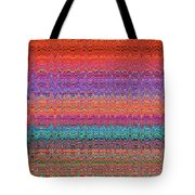 Moveonart Future Indian Voice Wave Quilt Tote Bag
