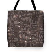 Moveonart Future Lights Tote Bag