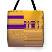 Moveonart Gold Data Tote Bag