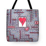Moveonart Heart Connection Tote Bag